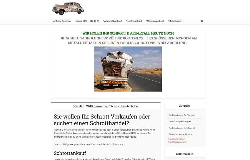 schrott abhol service bild - Schrotthandel Duisburg kümmert sich um ihre Schätze