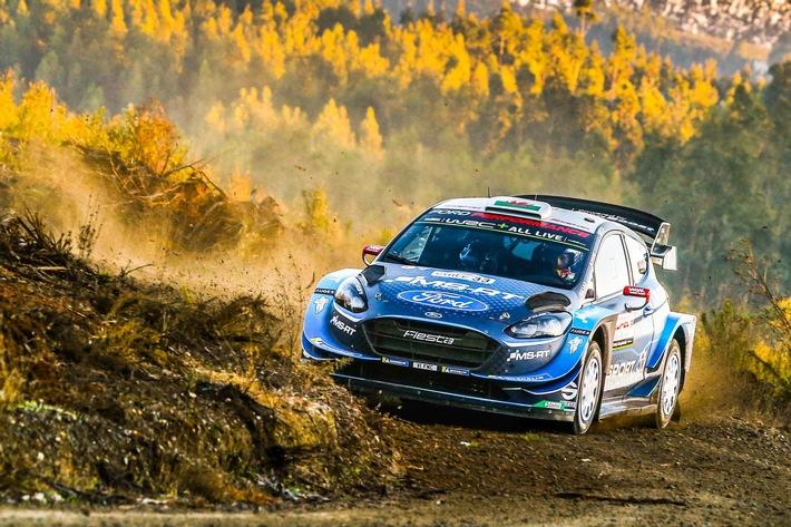 M-Sport Ford nimmt das Heimspiel bei der WM-Rallye