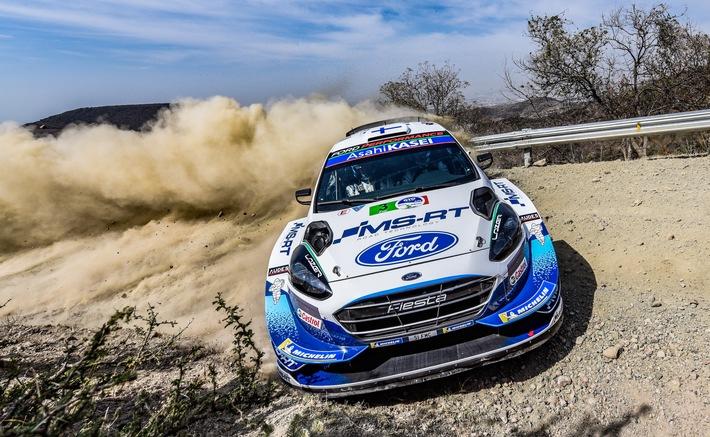 image 1 58 - Podiumsergebnis für Teemu Suninen und den Ford Fiesta WRC bei der WM-Rallye Mexiko