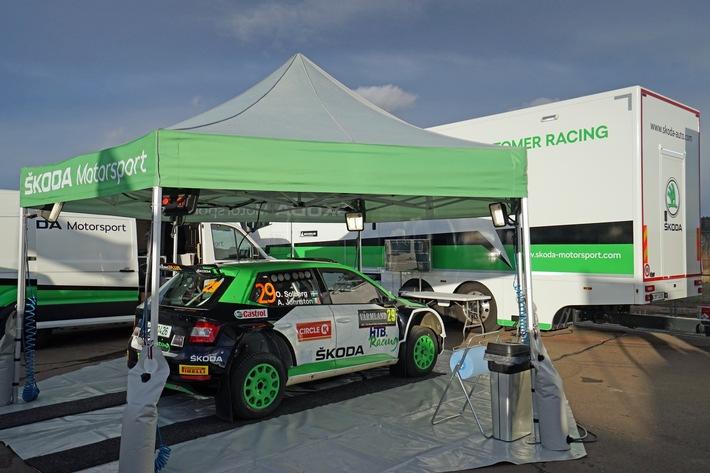 image 1 33 - SKODA Motorsport Kundenservice: aus Mladá Boleslav zu Rallyes in aller Welt