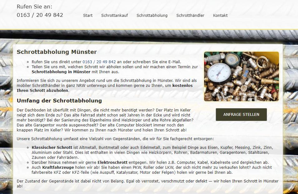 image 1 109 - Als Schrotthändler helfen wir Ihnen, den Schrott loszuwerden in Münster
