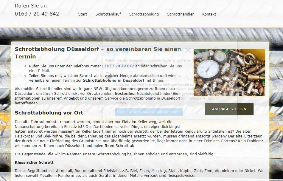 image 1 123 - Abholung von Altmetall in Düsseldorf: Wir sammeln alle Altmetalle professionell