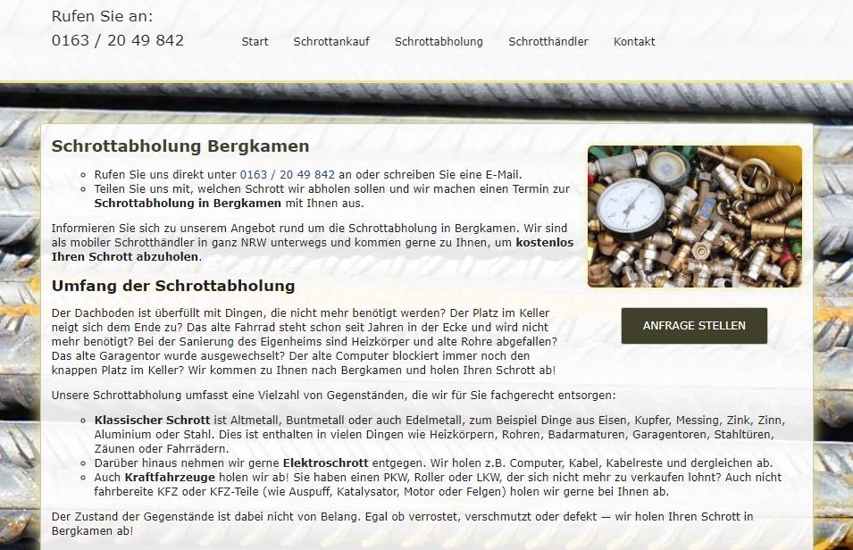 image 1 68 - Schnell & unkompliziert Schrottabholung in Bergkamen