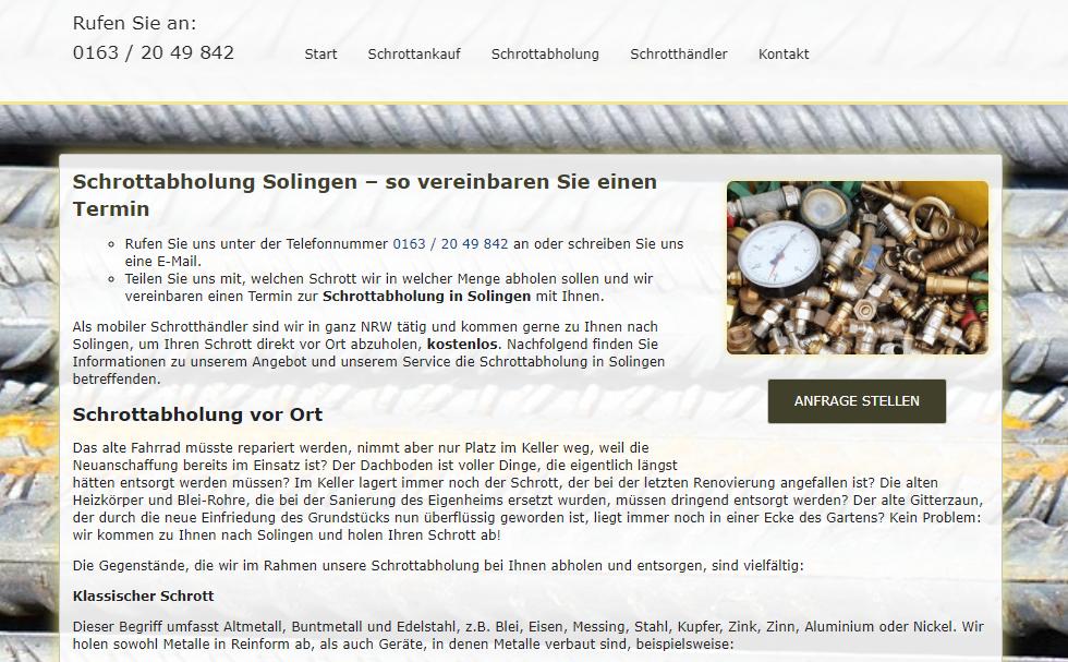 image 1 92 - Altmetall abholen in Solingen : Wir sind Ihr zuverlässiger Partner für den Ankauf von Altmetall