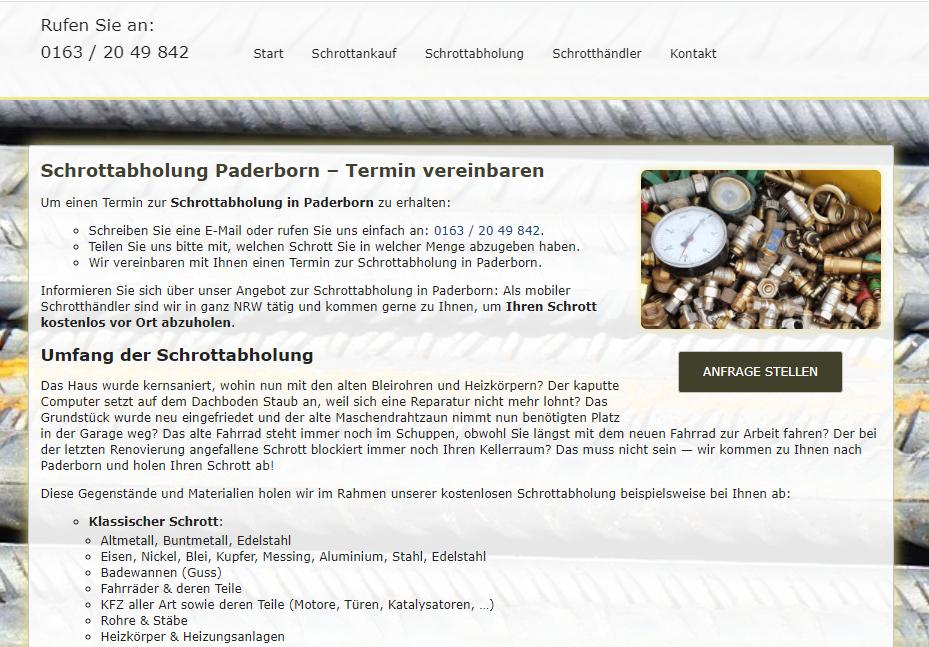 image 1 98 - Schrott & Metallhandel in Paderborn
