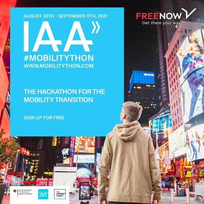 """image 1 110 - Erster Mobility-Hackathon der IAA 2021 FREE NOW entwickelt Lösungen für die """"15-Minute City"""" und für eine bessere Vernetzung von Stadt und Land"""