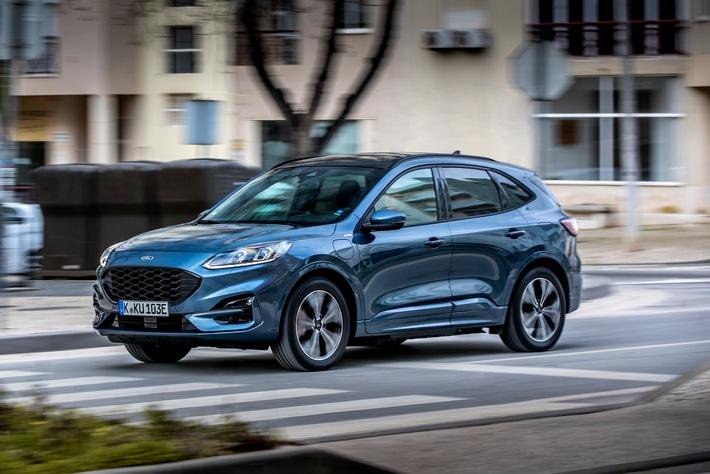 image 1 17 - Ford Kuga Plug-in-Hybrid ist europaweiter Verkaufsschlager - fast 50 Prozent der Fahrleistung erfolgt mit Ladestrom