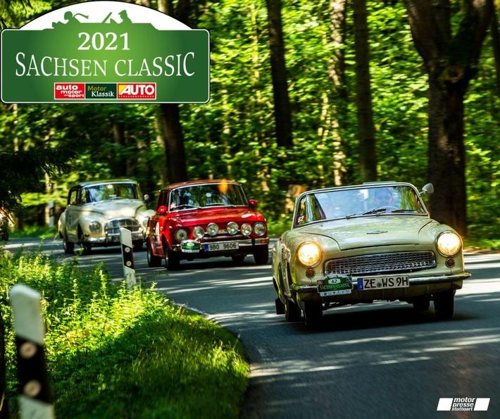 image 1 71 - Premiere im Freistaat: 18. Sachsen Classic ist die erste klimaneutrale Classic-Rallye der Motor Presse Stuttgart