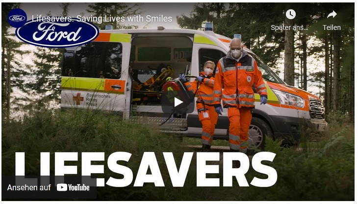 image 1 125 - Menschlichkeit und Opferbereitschaft - Kurzfilm von Ford zeigt Rettungshelfer des Bayerischen Roten Kreuzes