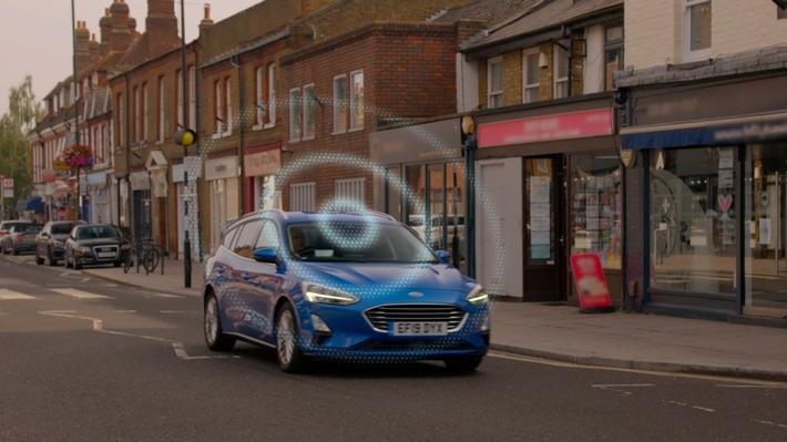 """image 1 163 - Ford entwickelt vernetzte """"Road Safe""""-Technologie zur Vorhersage von potenziellen Unfällen"""