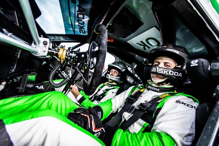 image 1 182 - ŠKODA Motorsport setzt auf Nachwuchsförderung – Dominik Stříteský steht vor Premiere in der Rallye-WM