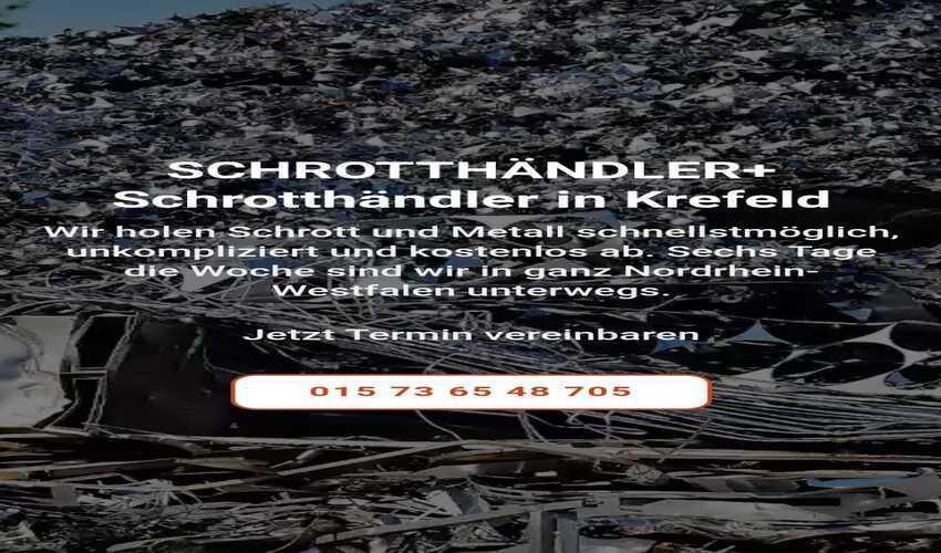 image 1 186 - In Krefeld kauft Schrott jeder Art durch, bei ihrem Schrotthändler ein Angebot für den Kurs einzuholen