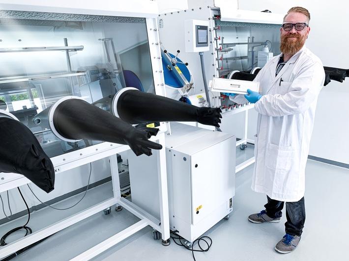 image 1 199 - Blackstone Resources AG eröffnet eines der modernsten Entwicklungslabore für die Batterietechnik