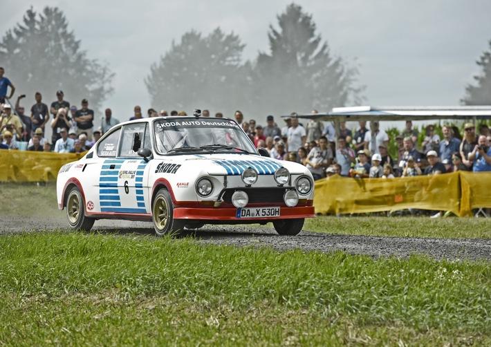 image 1 200 - ŠKODA startet mit Rallye-Legenden bei der Sauerland Klassik durchs 'Land der 1.000 Berge'