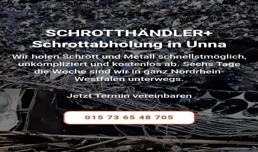 image 1 203 - Schrottentsorgung durch Schrottabholung in Unna und Umgebung