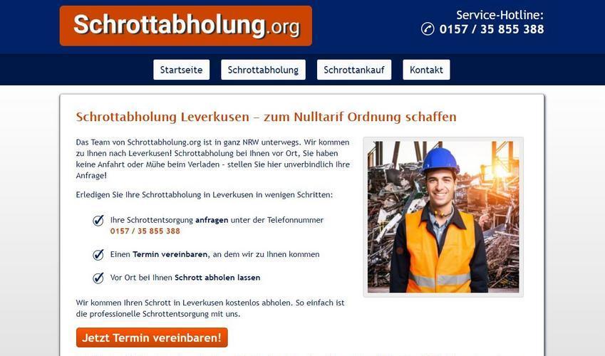 image 1 206 - Schrotthändler in Leverkusen helfen Ihnen gerne! Schrottabholung für Privat und Firmenkunden Leverkusen