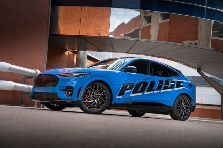 image 1 228 - Ford Mustang Mach-E besteht als erstes voll-elektrisches Fahrzeug die offiziellen Tests der Michigan State Police