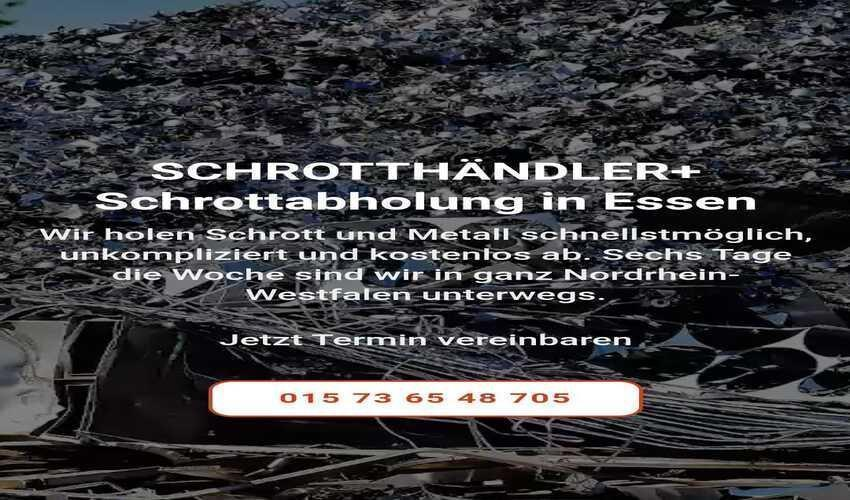 image 1 239 - Schrottabholung in Essen und Umgebung – die perfekte Lösung zur Entsorgung