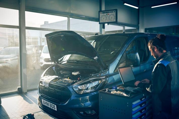 image 1 249 - Daten zeigen Vorteile von FORDLiive: Schon jetzt weniger Ausfallzeiten bei Kundenfahrzeugen dank neuem Service