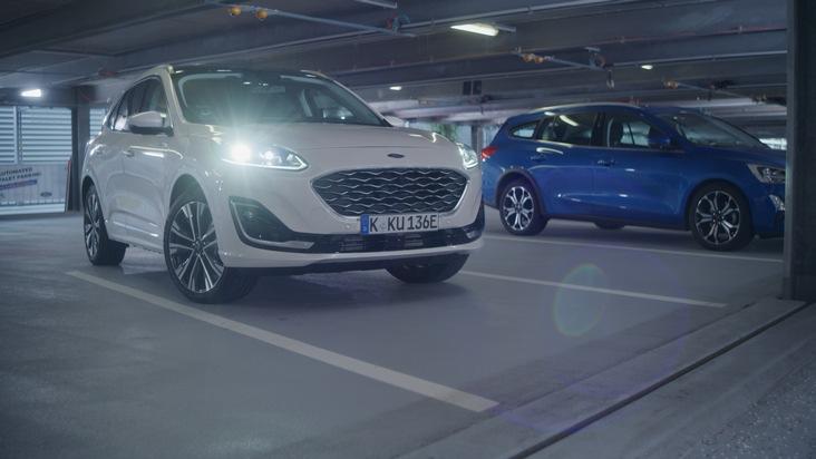 image 1 27 - Automatisierter Parkservice im Parkhaus: Ford präsentiert auf der IAA Mobility den jüngsten Stand der Entwicklung