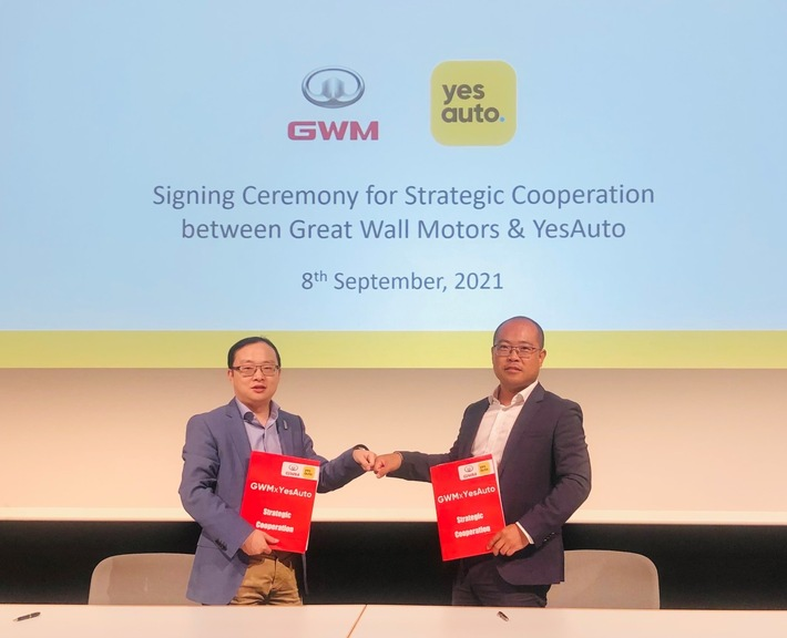 image 1 41 - Zur IAA Mobility: YesAuto startet Kooperation mit Great Wall Motors
