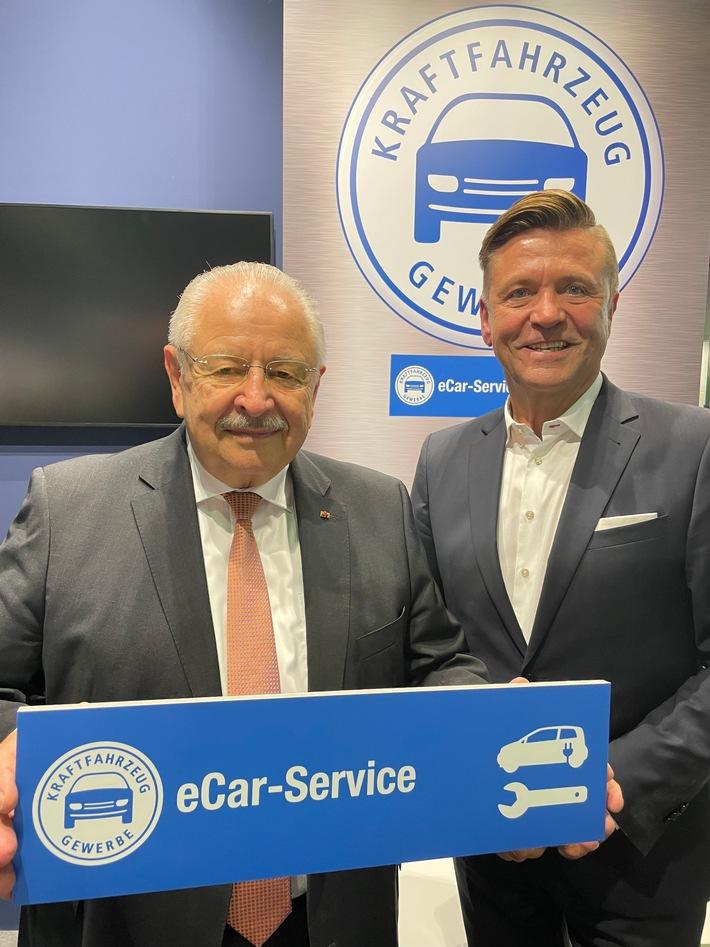 """image 1 80 - """"eCar-Service"""": Kfz-Gewerbe ist für E-Mobilität gut aufgestellt"""